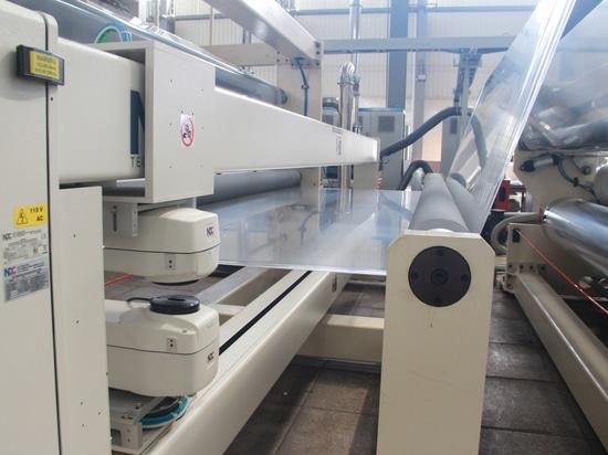 CPE 4-layer warf Film-Linie für Kunden in China
