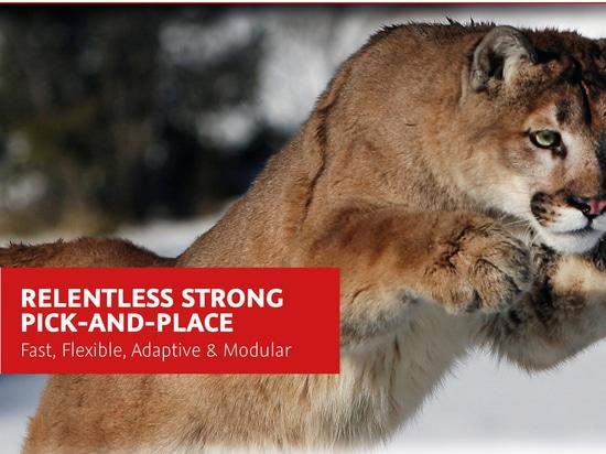 Puma/Tarantel - Essemtecs Auswahl-und-Platz-/Zufuhrinnovation bei Productronica 2017