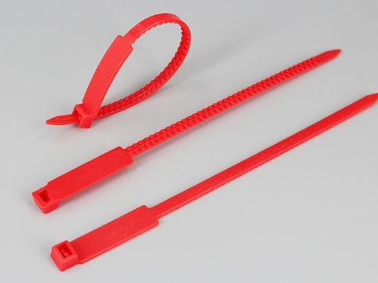 Numerierter Kabelbinderumbau