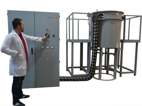 Rohstoff-Simulations-Ofen für Eisen-Produktion