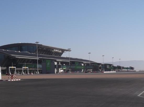 Gebäude von Galaxie-Anlage für 560 l/s an Salalah-Flughafen