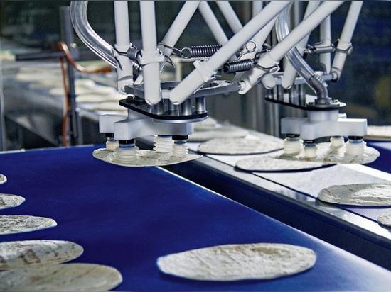 Deltaroboter für das Primärverpacken, Höflichkeit von Bosch