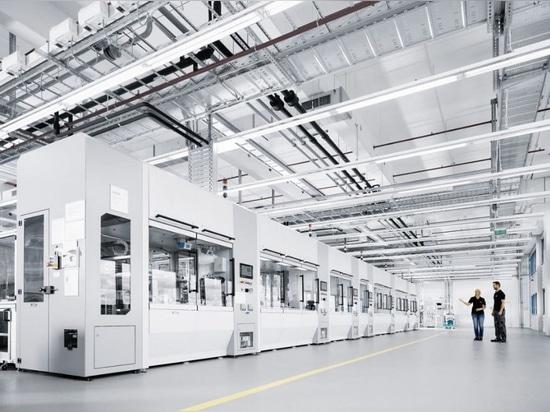 Technologiebetriebsventil-Produktionszellen, Höflichkeit von Festo