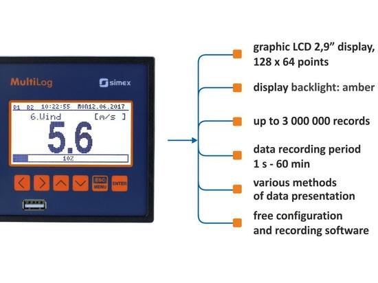 Der neue MultiLog-Datenrecorder im Verkauf ab Januar 2018!