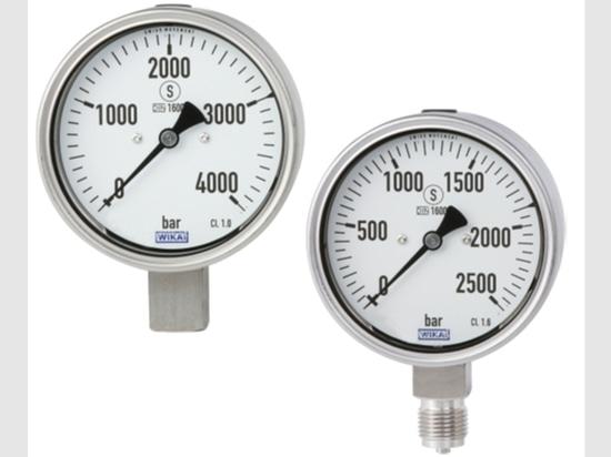 Neue Druckmanometer qualifizierten als das erste in Übereinstimmung mit LÄRM 16001