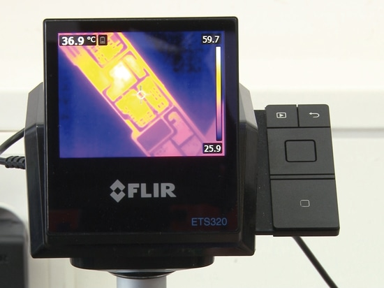 Wärmebildgebung beschleunigt Reparatur von Leiterplatten