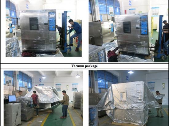 Temperatur-Feuchtigkeits-Test-Maschinen-Verpackungs-Detail