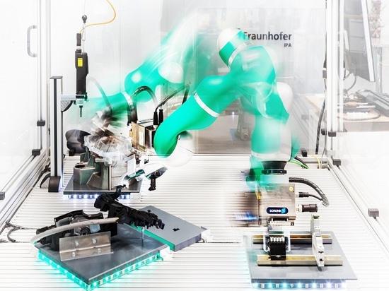 Steuern intelligente Roboter Herstellung?
