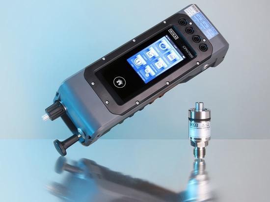 Mit dem tragbaren Prozesskalibrator CPH7000 lassen sich nun auch Höchstdruckmessmittel im Feld prüfen