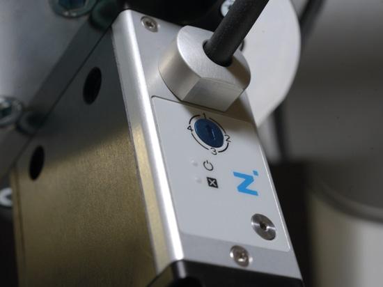 Bild zeigt 4-stufige Greifkrafteinstellung über Drehschalter