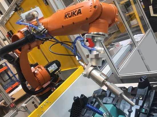 Roboter angebrachte Ultraschallehre
