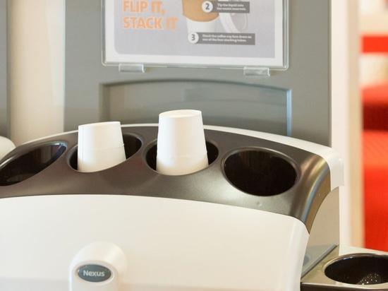 Veolia, zum von 120m Kaffeetassen im BRITISCHEN nächsten Jahr aufzubereiten