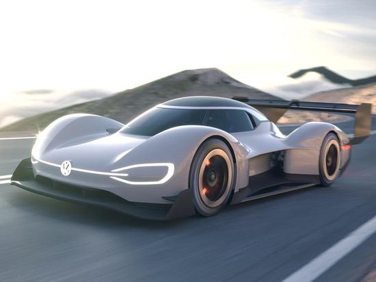 Aufladung zur Spitze – Satz Volkswagens I.D.R Pikes Peak für Weltpremier