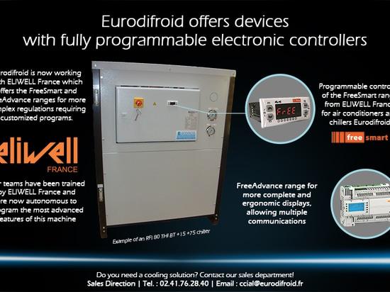 Eurodifroid bietet Geräte mit völlig programmierbaren elektronischen Prüfern an