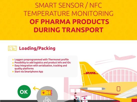 DHL arbeitt innovative Temperaturüberwachungslösungen in Partnerschaft mit Blulog aus