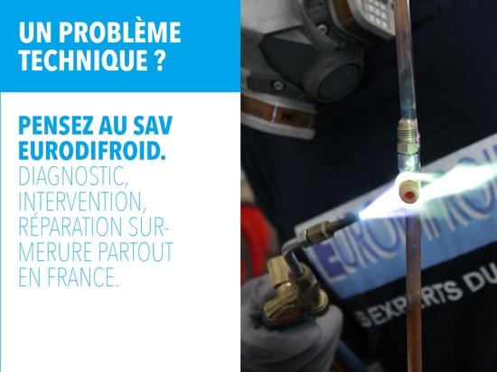 Unser SAV: Qualität Eurodifroid alles über Frankreich