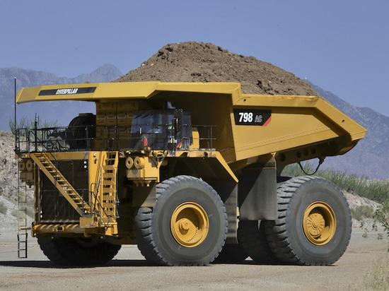 Caterpillar 796 Wechselstrom, 798 Wechselstrom-Bergbau-LKWs