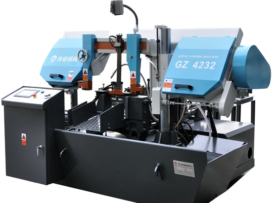 Horizontale automatische Bandsägemaschine für das Metallschneiden