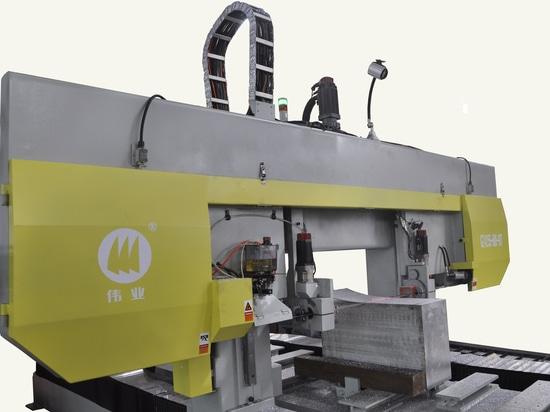 Horizontale CNC-Bandsäge GZ4255T für Aluminium
