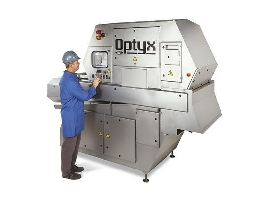 Lasertechnologie des Sortierers verbessert verpackte Produktqualität