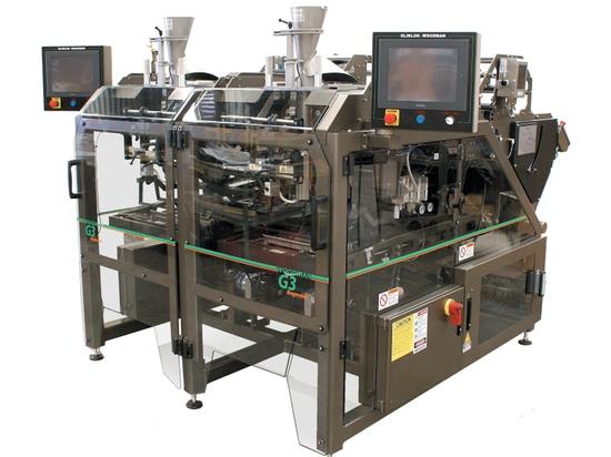 Snack-Food-Taschen-Hersteller kann 240 Taschen pro Minute produzieren