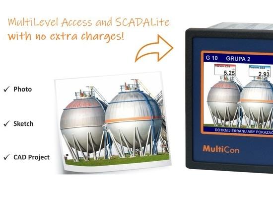Mehrstufiger Zugang und SCADALite jetzt erhältlich ohne Aufpreise!