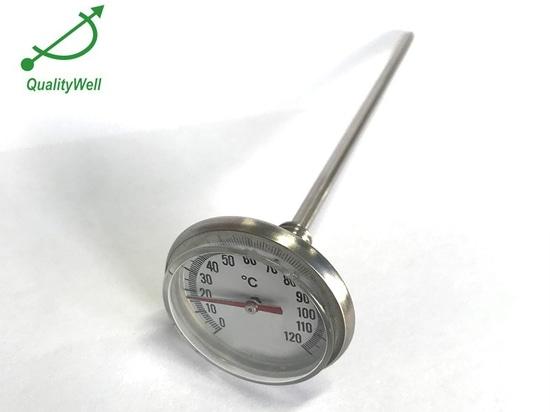 Wartung und Pflege des Bimetallthermometers