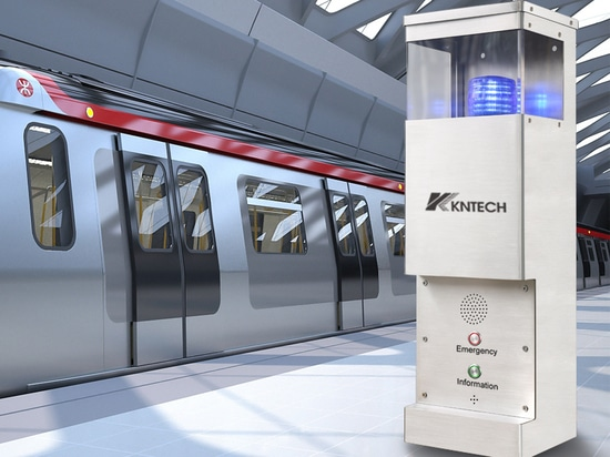 Fahrgasthilfe Point / Video intercom /Notrufstationen /Telefon -Konsole -U -Projekt
