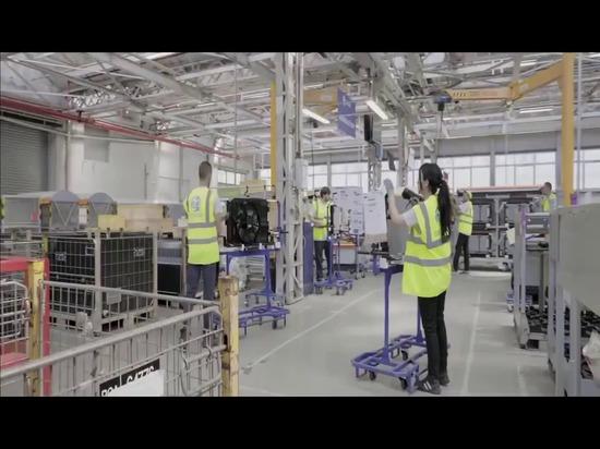 Peugeot hat den AGVS INDEVA ® für seinen gewählt ihre Fließbandlinie