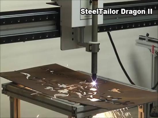 Bock-Schneidemaschineausschnittvideo SteelTailor DragonII tragbares