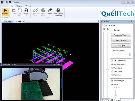Stiftausfluchtungskontrolle mit Q4/Kontaktstifte Ausrichtung prüfen MIT Q4