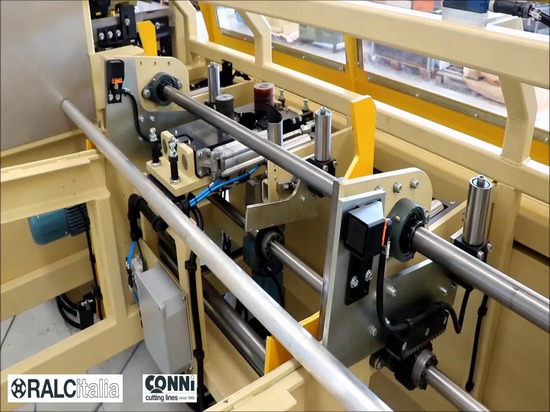 Schneidemaschine für Messing, ecobrass, ALU und CU