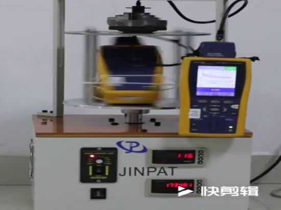 Drehende Prüfung des JINPAT-Labor-Ethernets