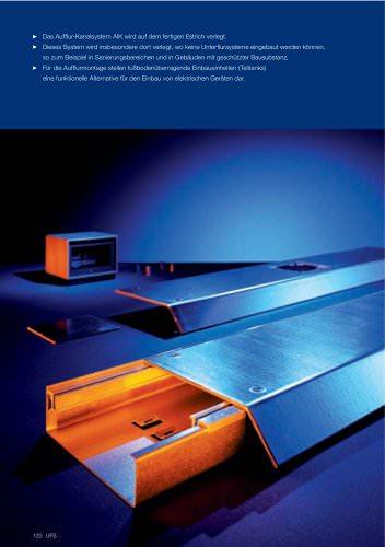 AIK Aufflur-Installationskanal-Systeme