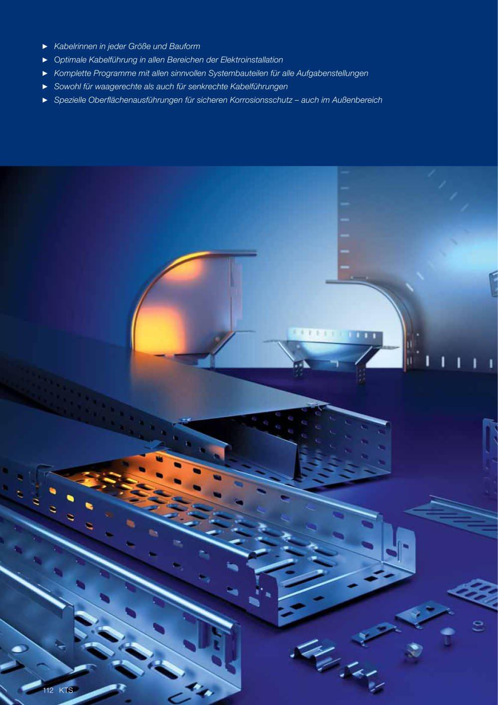Kabelrinnen-Systeme - OBO Bettermann - PDF Katalog   technische ...