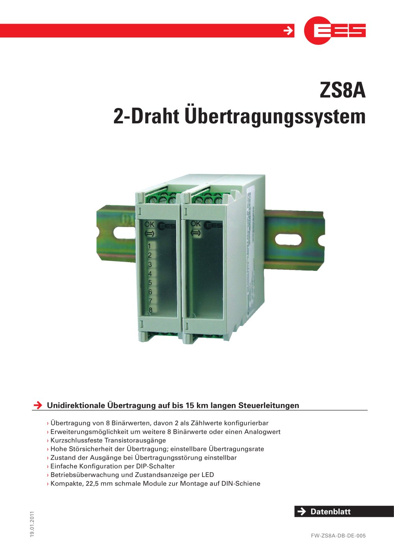ZS8A - Elektra Elektronik GmbH & Co. Störcontroller KG - PDF Katalog ...