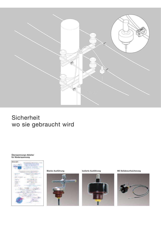 Überspannungs-Ableiter für Niederspannung - EFEN - PDF Katalog ...