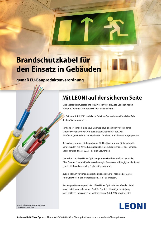 FiberConnect® - LEONI Fiber Optics - PDF Katalog   technische ...