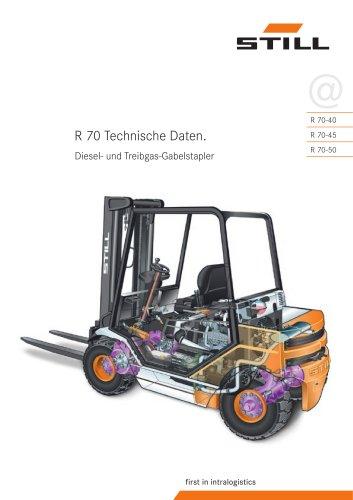 R 70-40 - STILL - PDF Katalog | technische Unterlagen | Prospekt