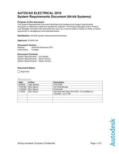 AutoCAD Electrical - AUTODESK - PDF Katalog | technische