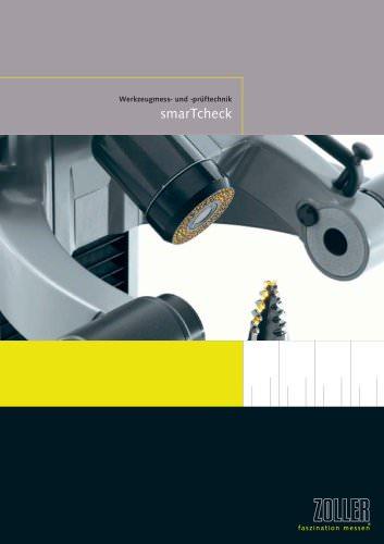 »smarTcheck« - die Produktlinie für die Werkzeuginspektion
