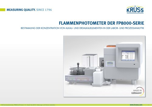 Flammenphotometer