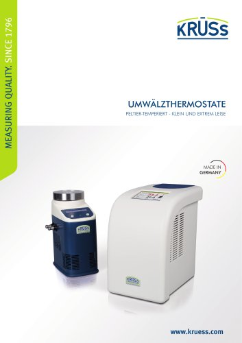 Umwälzthermostate von A. KRÜSS Optronic