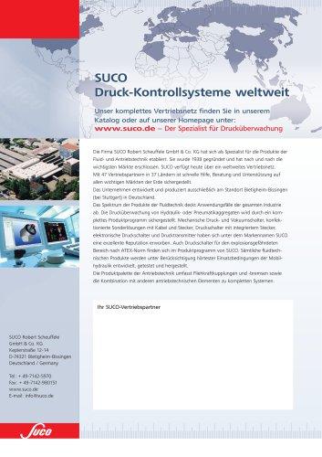 Druck- Kontrollsysteme im Überblick