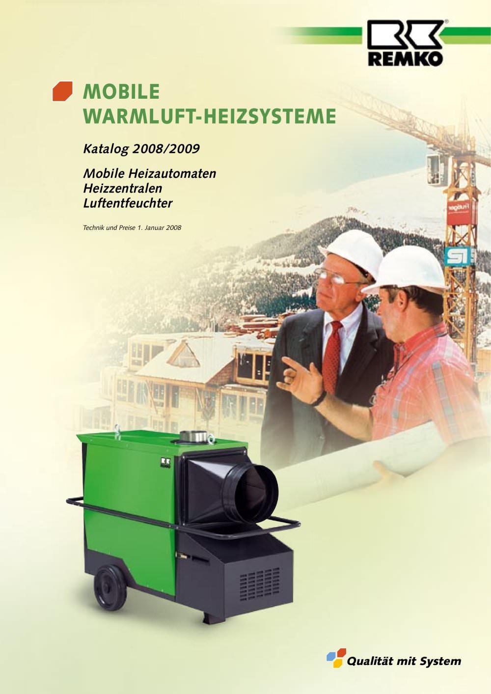 Mobile Warmluft-Heizsysteme - REMKO - PDF Katalog   technische ...