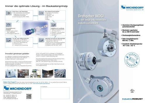 Wachendorff Drehgeber WDGI - der neue Industrie-Standard
