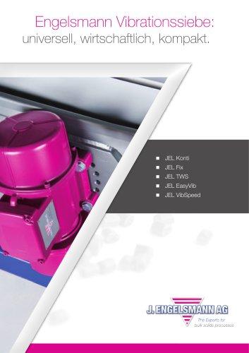 Broschüre Vibrationssiebmaschinen