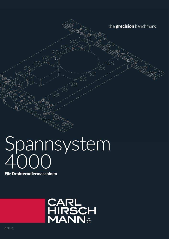 Hirschmann spannsysteme erodiermaschinen