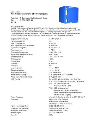 C-TEC 2408-20