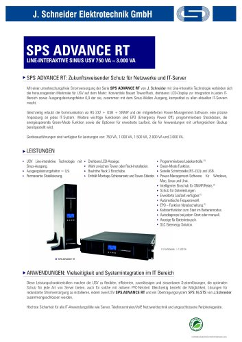 SPS Advance RT
